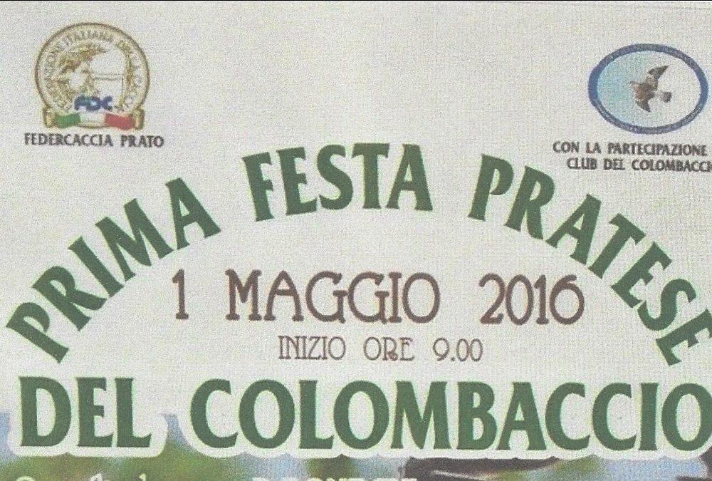 Prima festa Pratese del Colombaccio
