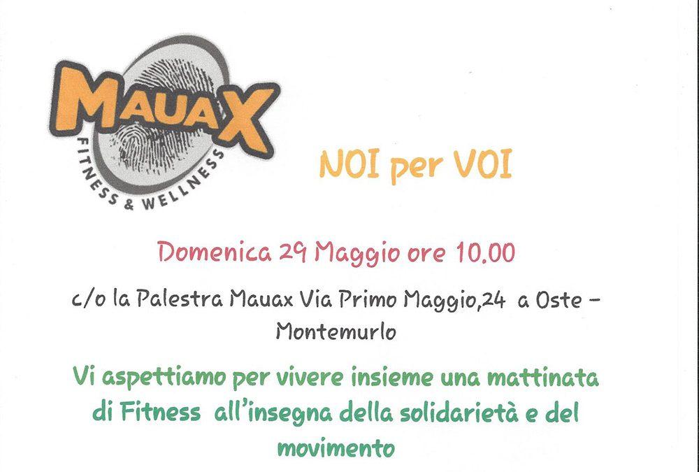 Mauax – Una mattinata di Fitness all'insegna della solidarietà e del movimento